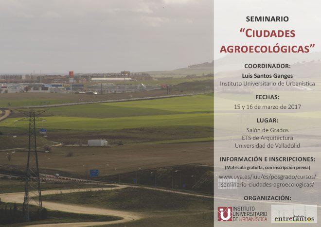 Seminari sobre Ciutats Agroecològiques