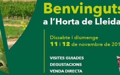 Benvinguts a l'Horta de Lleida! 11 i 12 de novembre