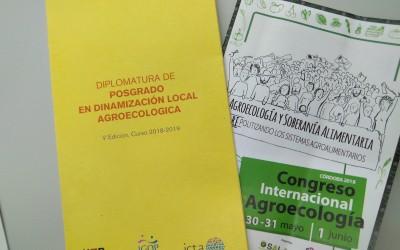 Participació del postgrau al VII Congrés Internacional d'Agroecologia