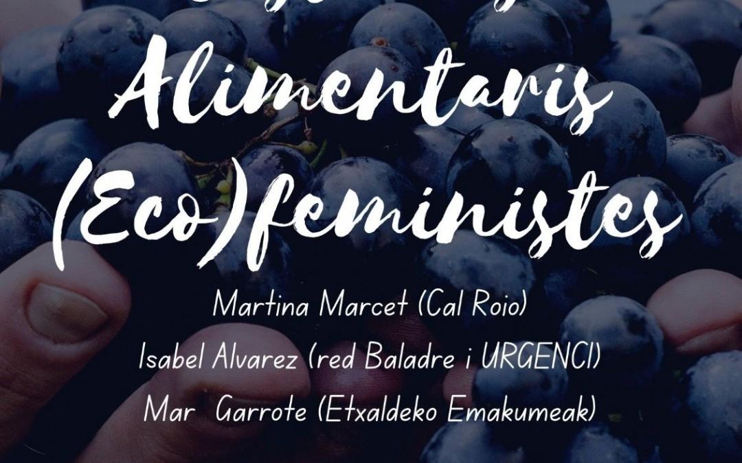 Vídeo de la jornada sistemes alimentaris (eco)feministes. 20 de octubre